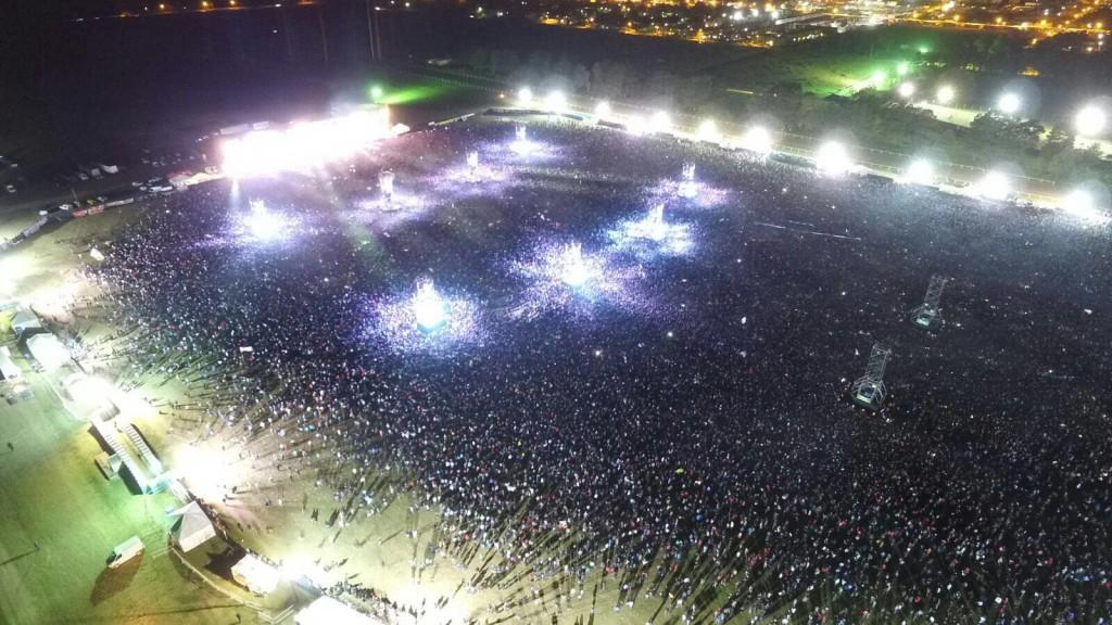 Foto: Drone Mar del Plata