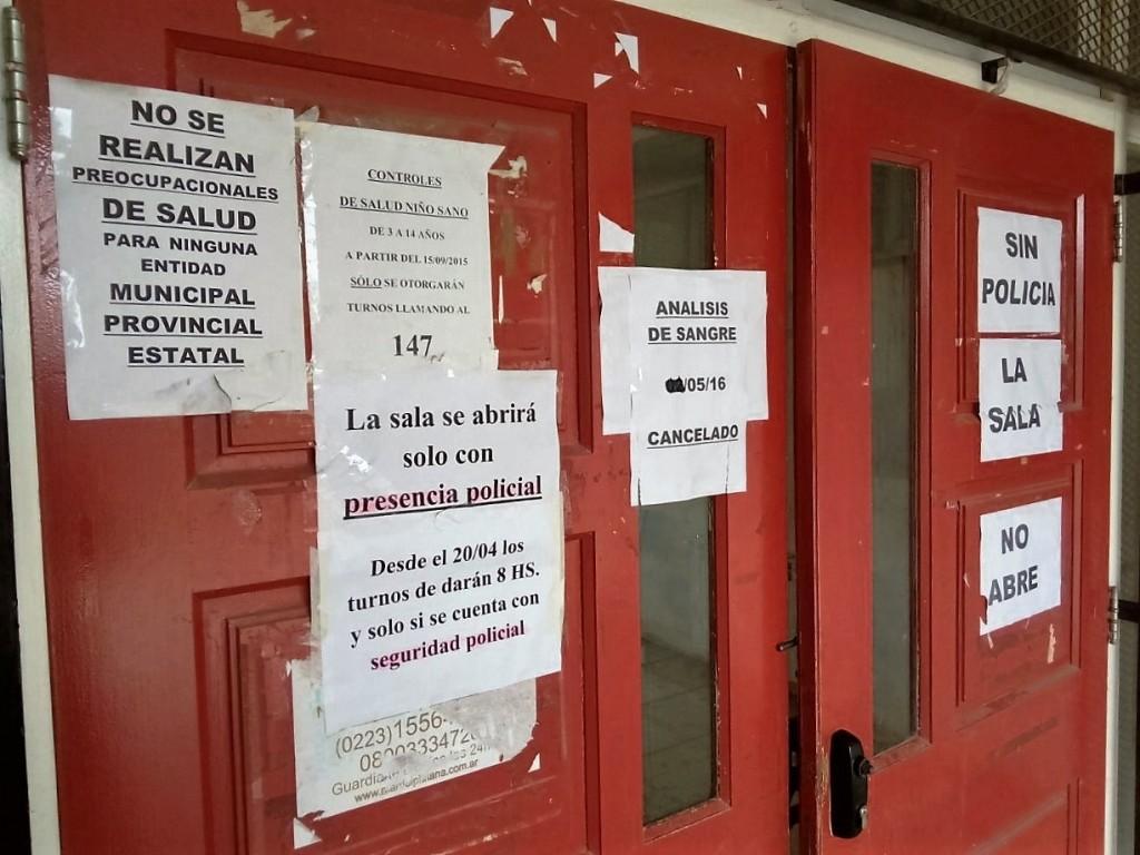La sala del barrio Belgrano no atiende por falta de seguridad ...