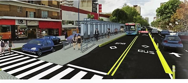 Resultado de imagen para Metrobus de Mar del Plata