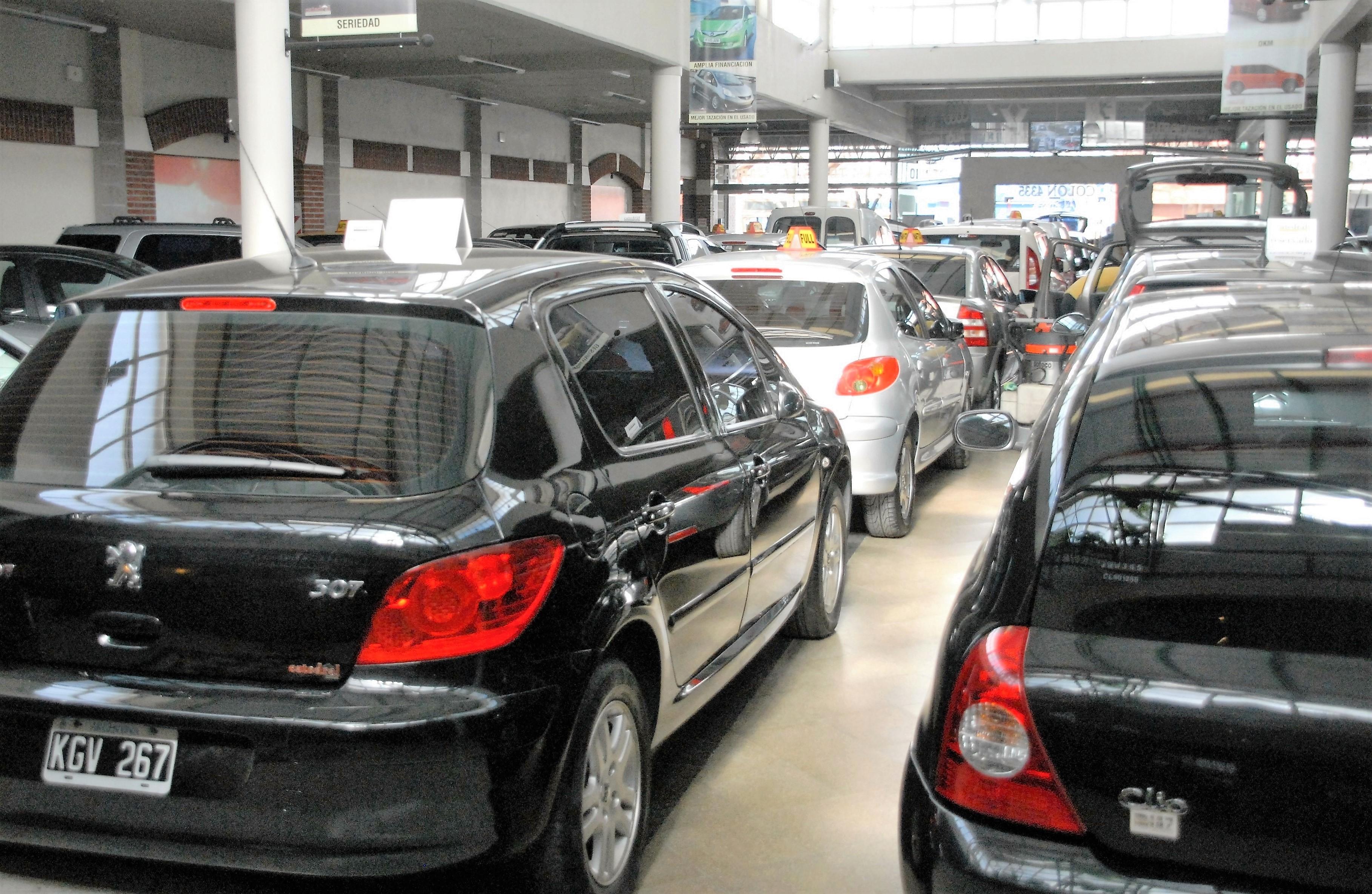 La Venta De Autos Usados Cay 29 92 Por Ciento Diario La